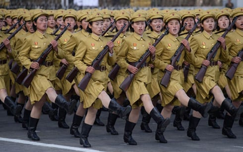 Triều Tiên tuyên bố đáp trả tương xứng bất kỳ cuộc chiến nào từ Mỹ 1
