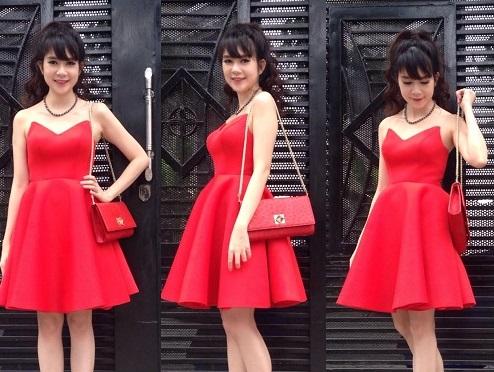 Giải trí - Bà mẹ 4 con Minh Hà bật mí bí quyết riêng khi chọn trang phục
