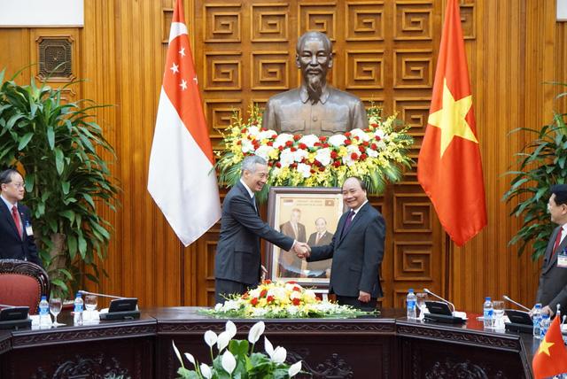 Hình ảnh Thủ tướng Lý Hiển Long cam kết hỗ trợ Việt Nam về vấn đề Biển Đông số 1