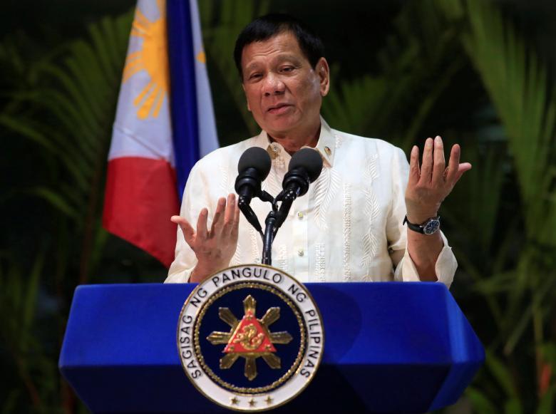 Hình ảnh Duterte nói sẵn sàng chia sẻ tài nguyên ở Biển Đông với Trung Quốc số 1