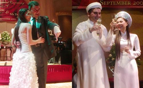Giải trí - Lộ ảnh đính hôn của ca sĩ Thanh Thảo và bạn trai Tây hơn 10 năm trước