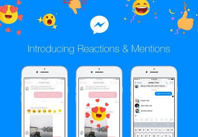 Hình ảnh Facebook cho phép thể hiện cảm xúc khi chat với bạn bè trong Messenger số 1