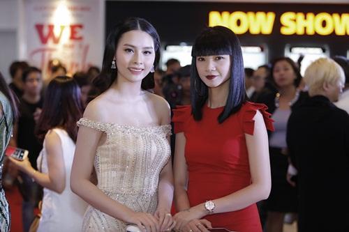 Xuân Bắc cười tít mắt bên cạnh Hoa hậu biển Thuỳ Trang 7