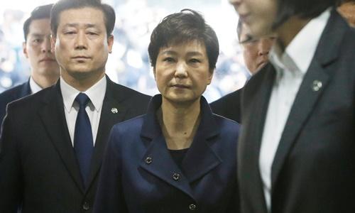 Hàn Quốc phát lệnh bắt bà Park Geun-hye 1