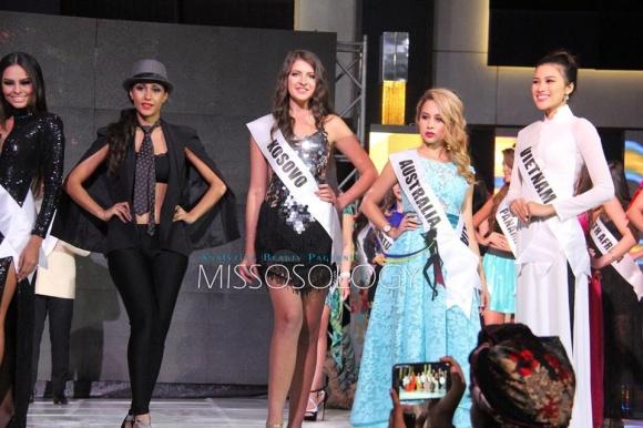 Nguyễn Thị Thành lọt Top 10 phần thi Tài năng tại Miss Eco International 2017 2