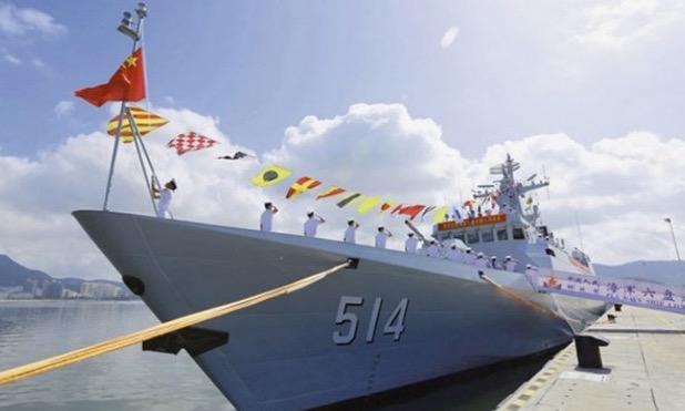 Trung Quốc đưa tàu diệt ngầm tàng hình ra Biển Đông 1