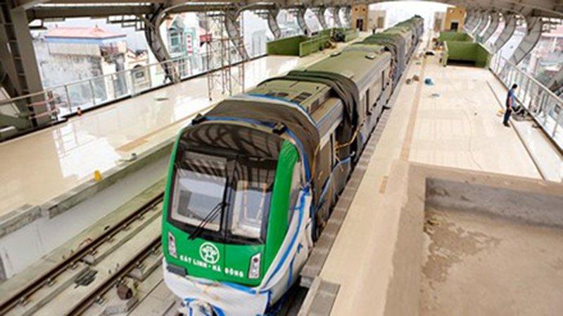 Lộ diện hình ảnh tàu đường sắt trên cao Cát Linh - Hà Đông 4