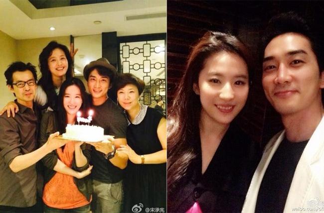 Rộ tin Lưu Diệc Phi có thai với Song Seung Hun 3
