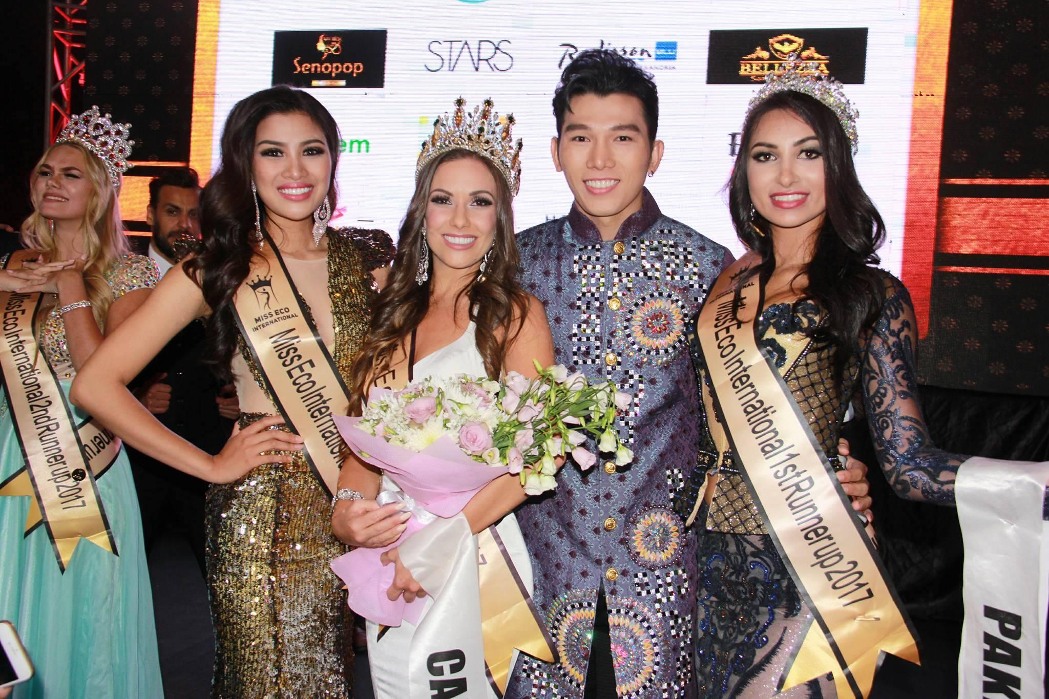 Á vương Ngọc Tình chúc mừng Nguyễn Thị Thành giành Á hậu 3 1