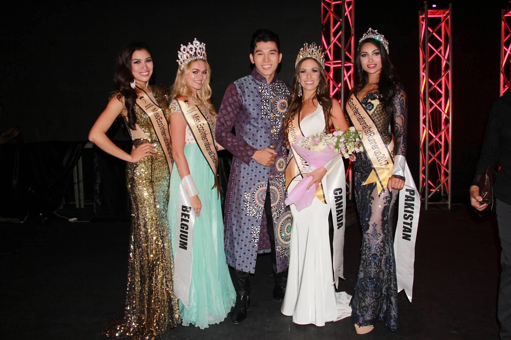 Á vương Ngọc Tình chúc mừng Nguyễn Thị Thành giành Á hậu 3 4