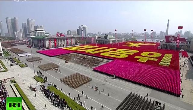 Triều Tiên duyệt binh rầm rộ, tuyên bố sẵn sàng huy động tổng lực đáp trả Mỹ 7