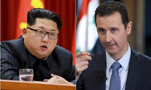 Kim Jong-un trực tiếp chỉ trích Mỹ vì tấn công tên lửa Syria 1