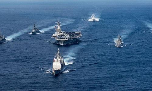 Mỹ điều 3 tàu sân bay áp sát Triều Tiên giữa lúc căng thẳng cao 1