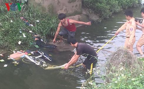 Hưng Yên: Danh tính 2 thanh niên tử vong dưới mương nước 1