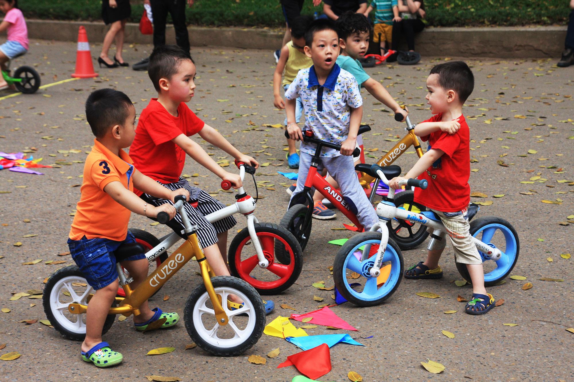 Hà Nội lần đầu tiên có giải đua xe thăng bằng cho trẻ em 2