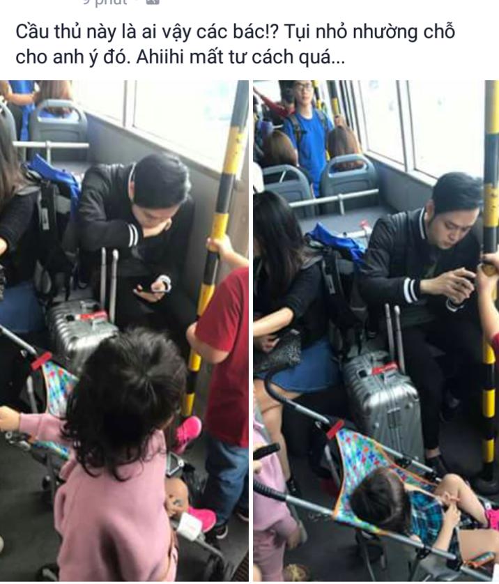 Quang Vinh lên tiếng khi bị tố không nhường ghế cho trẻ nhỏ khi ngồi xe buýt 1
