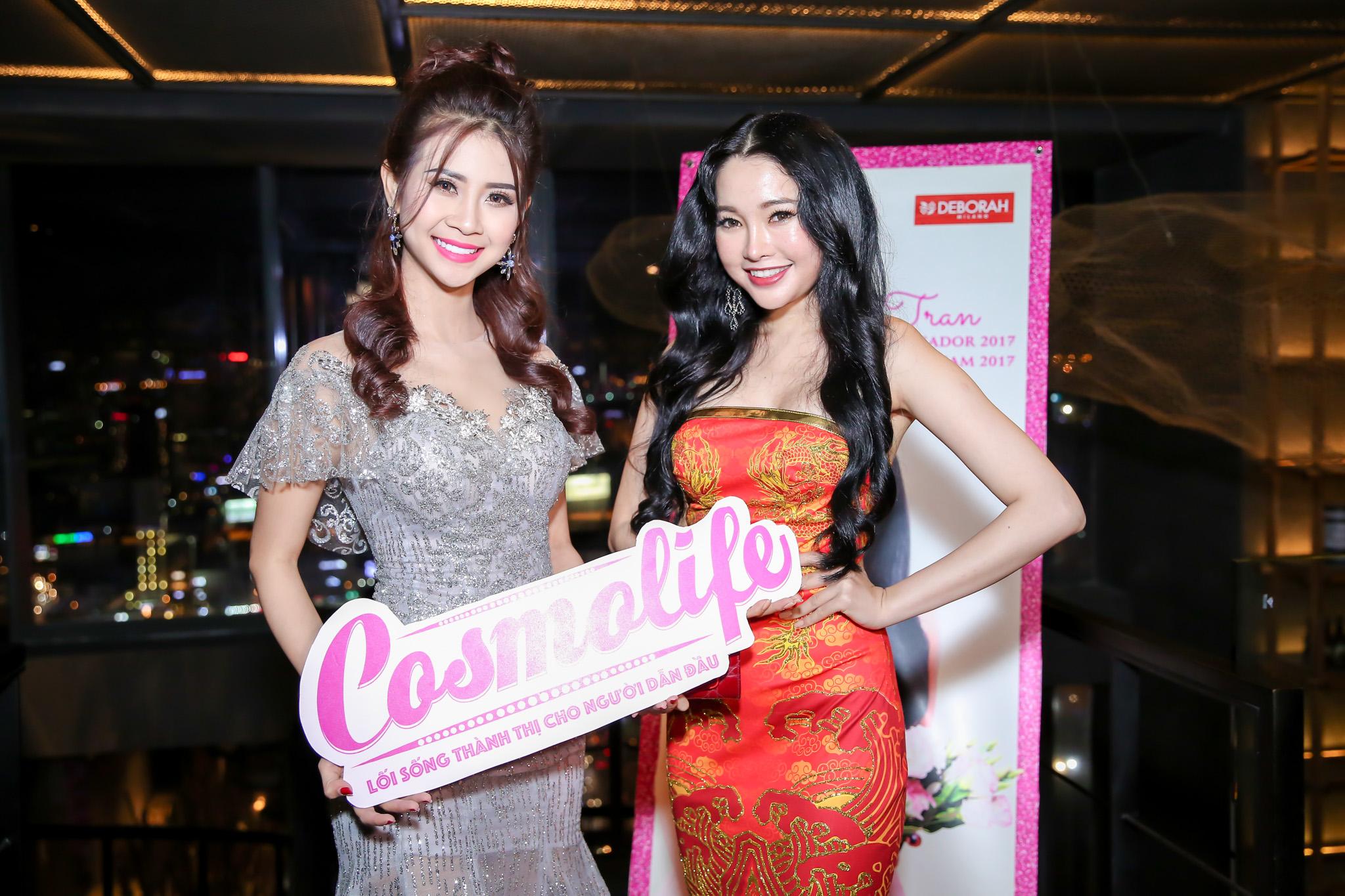 Hoa khôi Nam Em đến chúc mừng Lương Thái Trân đi thi Miss SuperTalent 2017 7