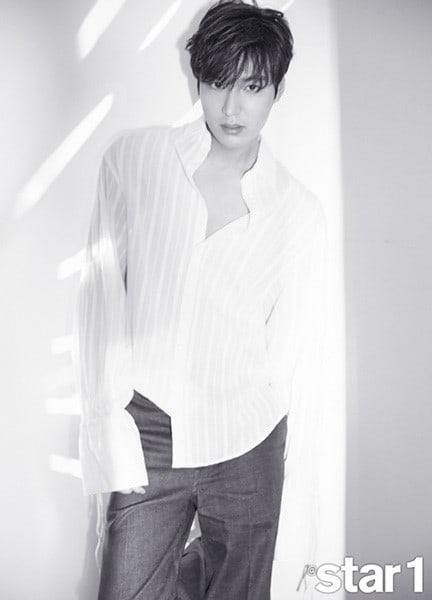 Hình ảnh Lee Min Ho khoe vẻ nam tính, lần đầu trải lòng trước ngày lên đường nhập ngũ số 2
