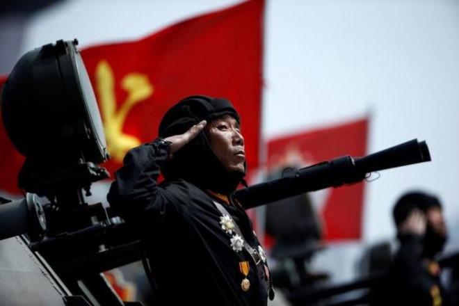 Hình ảnh Triều Tiên dọa biến lục địa Mỹ thành tro bụi, Hàn Quốc báo động cao số 1