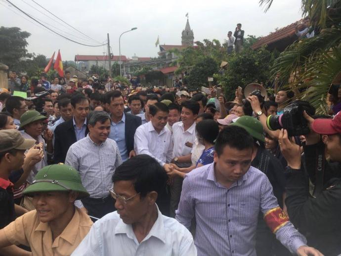 Chủ tịch Chung cam kết không truy cứu trách nhiệm hình sự dân Đồng Tâm 1