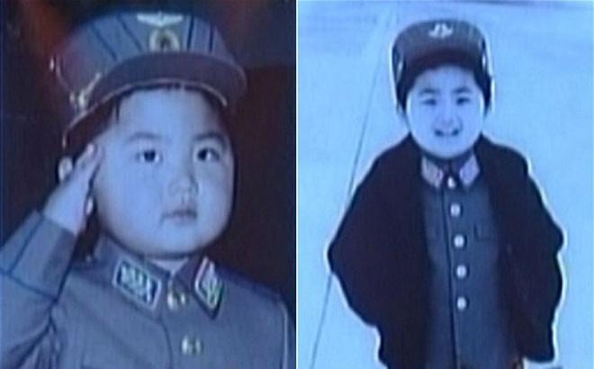 Triều Tiên lần đầu công bố ảnh hồi  nhỏ của Kim Jong-un 1