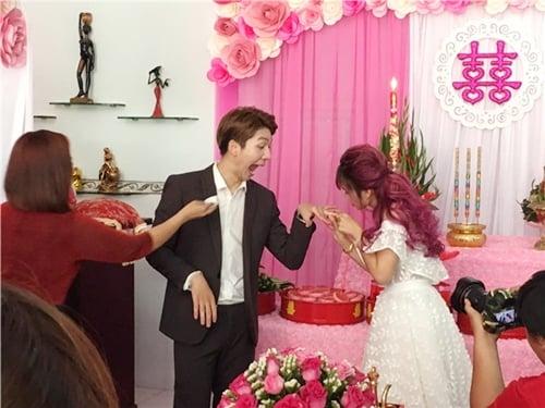 Giải trí - Toàn cảnh lễ đính hôn vui nhộn của Kelvin Khánh và Khởi My