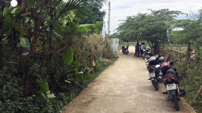 Vụ mẹ chồng tử vong bất thường ở Quảng Nam: Con dâu thừa nhận xô ngã 1