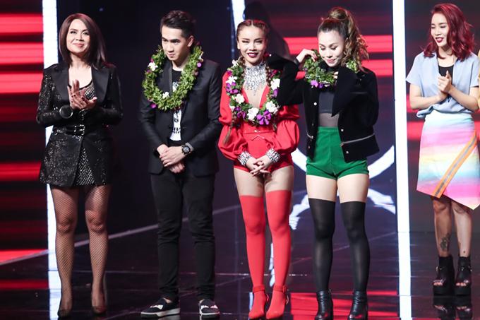 Bảo Thy xuất sắc giành ngôi quán quân The Remix mùa 3 11
