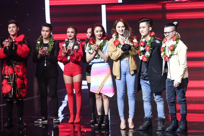 Bảo Thy xuất sắc giành ngôi quán quân The Remix mùa 3 12