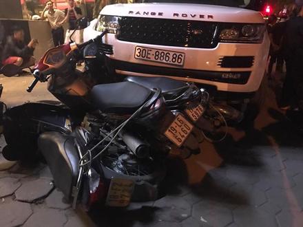 Hà Nội: Nghi vấn cướp xe Range Rover bỏ chạy, gây tai nạn liên hoàn 1
