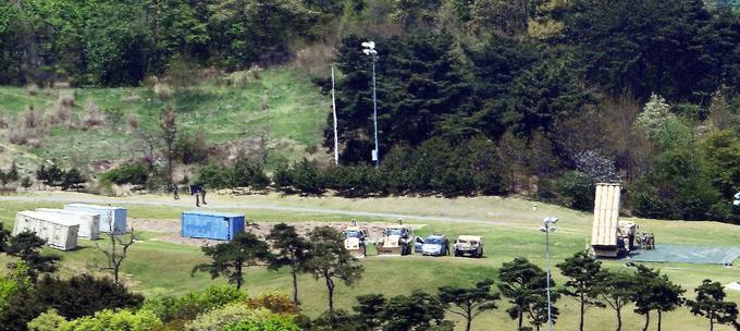 Cận cảnh tổ hợp THAAD Mỹ vừa triển khai tại Hàn Quốc 1