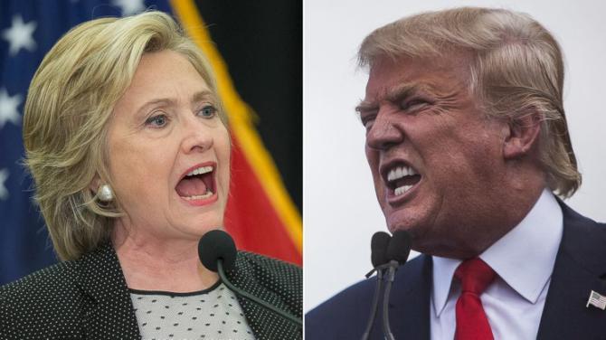 Trump giận dữ đáp trả tuyên bố lẽ ra trở thành tổng thống của bà Clinton 1