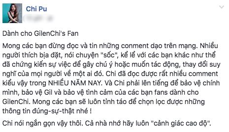 Chi Pu lên tiếng phản pháo khi bị nói không công khai quen Gil Lê vì sĩ diện 1
