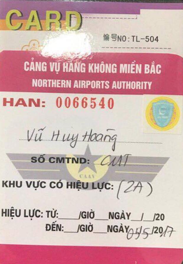Đề nghị kỷ luật người đưa ông Vũ Huy Hoàng vào khu vực cách ly sân bay 1