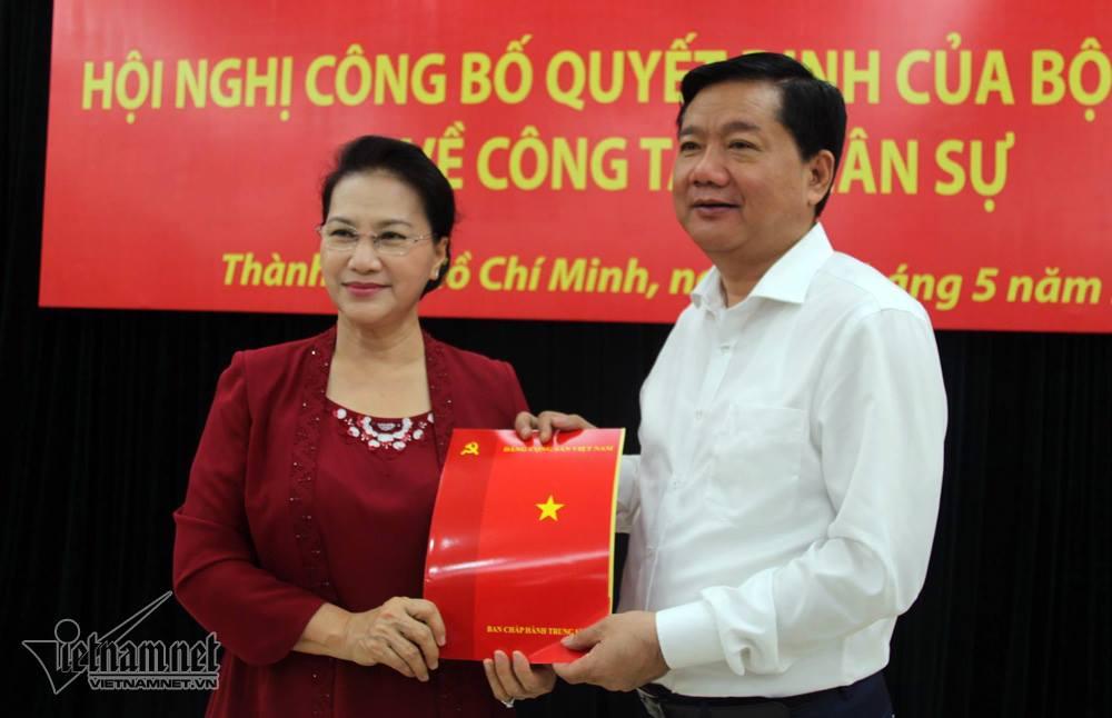 Ông Đinh La Thăng được điều động làm Phó ban Kinh tế Trung ương 1
