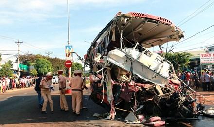 Vụ tai nạn khiến 13 người thiệt mạng ở Gia Lai: Xe tải chở quá tải 1