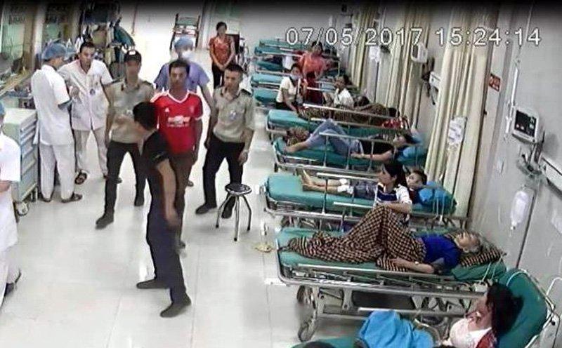 Công an Phú Thọ thông tin vụ người nhà nổ súng uy hiếp bác sĩ 1