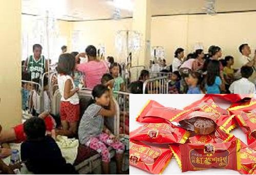 49 học sinh tiểu học phải nhập viện do ăn kẹo miễn phí của người lạ 1