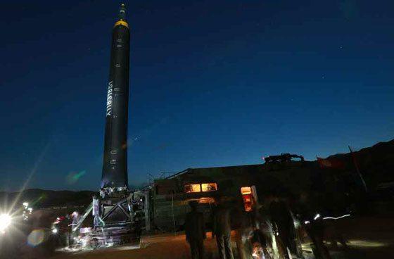 Triều Tiên công bố loạt ảnh vụ thử tên lửa thành công nhất 2