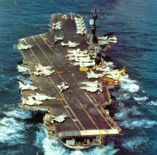 5 tàu sân bay hùng mạnh nhất mọi thời đại 1