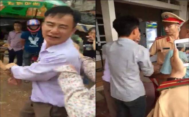Giám đốc doanh nghiệp gây tai nạn còn dọa nạt, hành hung CSGT 1