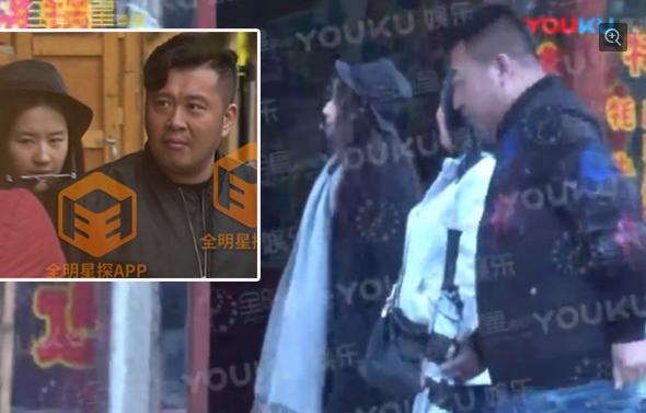 Lưu Diệc Phi bị nghi hẹn hò vệ sĩ 1