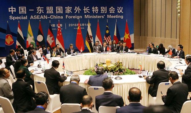 Trung Quốc-ASEAN đạt thỏa thuận khung về COC 1