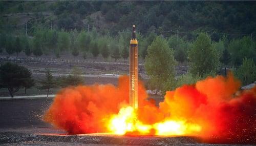 Nóng: Triều Tiên tiếp tục thử tên lửa đạn đạo 1