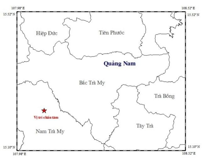 Quảng Nam: Động đất 2,7 độ Richter  1