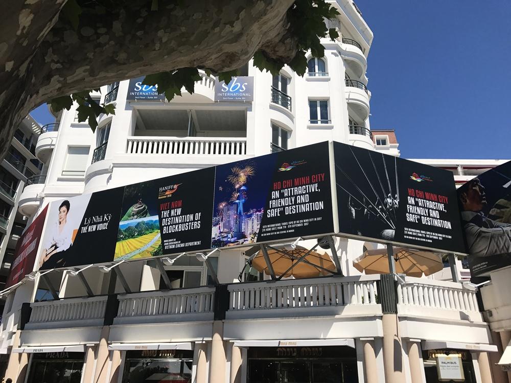 Công ty truyền thông quốc tế lên tiếng việc Lý Nhã Kỳ xuất hiện trên pano tại Cannes 2
