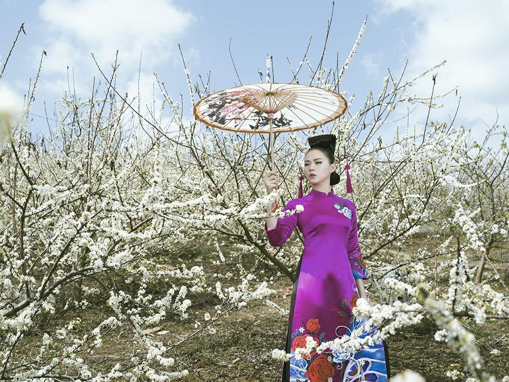 'Phù thủy makeup' Kenny Thái ra mắt BST áo dài mang phong cách Nhật Bản 4