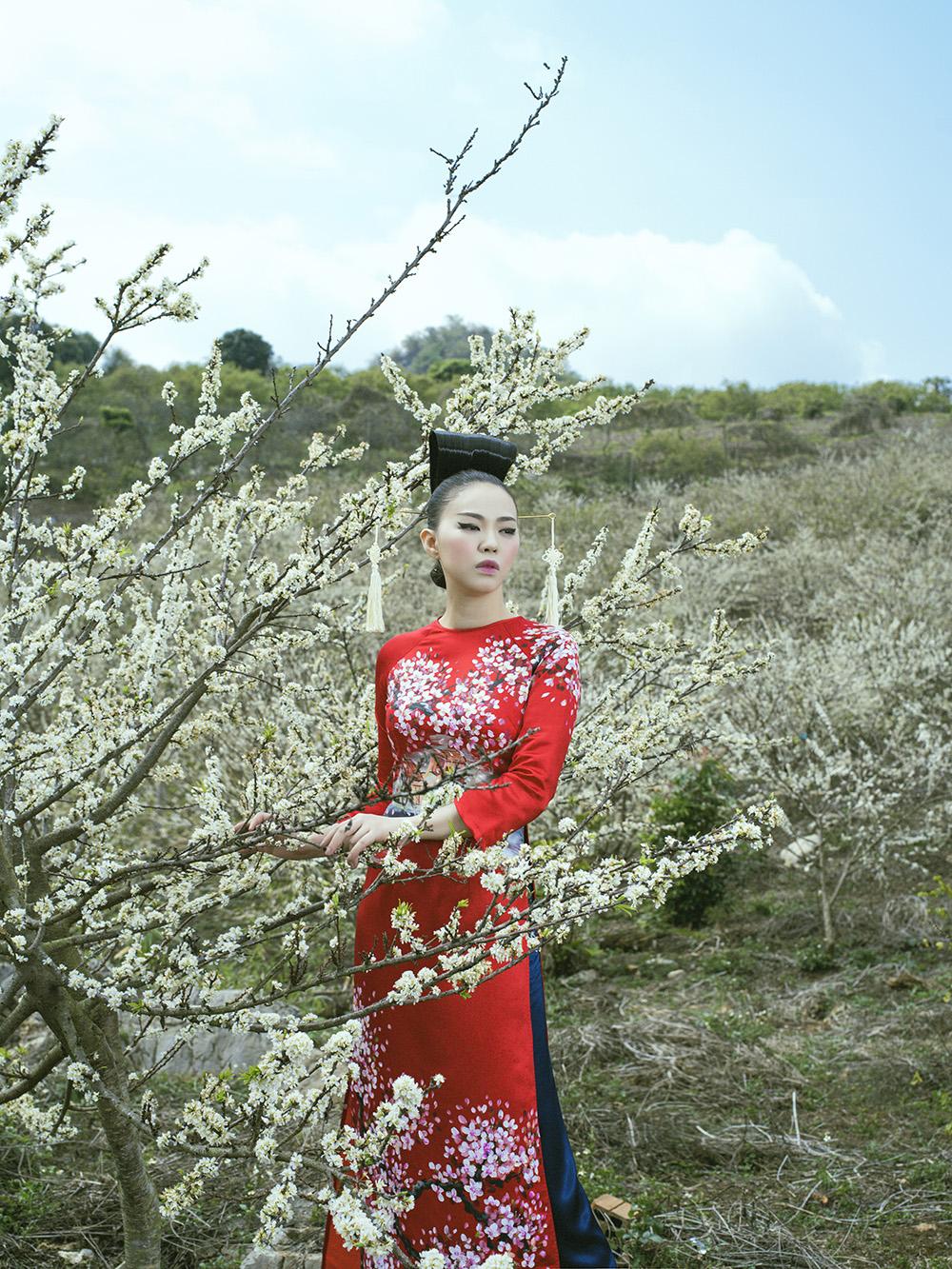 'Phù thủy makeup' Kenny Thái ra mắt BST áo dài mang phong cách Nhật Bản 6