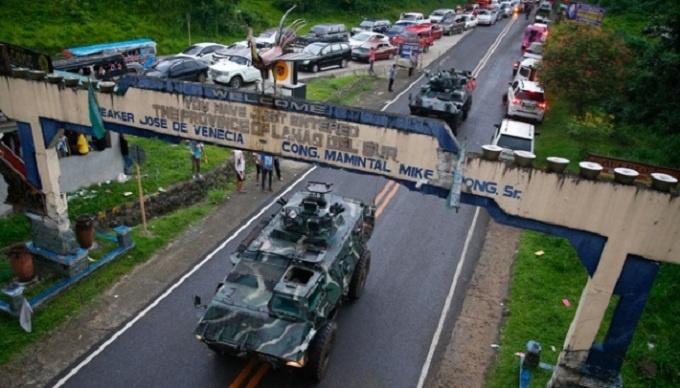 Chùm ảnh: Quân đội Philippines tấn công phiến quân thân IS ở Marawi  9