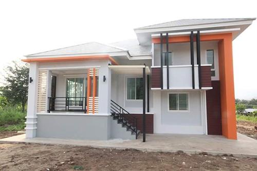 Ngôi nhà cấp 4 kiểu Thái tại Nghệ An thu hút sự quan tâm của nhiều chủ xây dựng 12